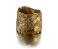 Lucia Massei Bracelet: I giorni, 2012-2013 Epaulettes (antique General's stripes melted ) silk, ancient fabric