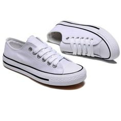 Multi Size Fashion New Women's Men's Casual Simple Lace Up Lover Canvas Shoes | eBay