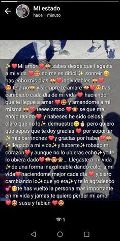 Bag Tutorial and Ideas Cute Relationship Texts, Cute Relationships, Love Boyfriend, Boyfriend Gifts, Cadeau 1 An Couple, Sad Love, Love You, Tumblr Love, Love Text