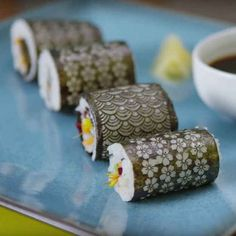 That time it decided that lasers are going to change the world someday and brought it up at every single dinner party all the time. Spicy Tuna Roll, Laser Cut Patterns, Sushi Rolls, Eating Raw, Laser Cutting, Lunch, Fish, Dinner, Change