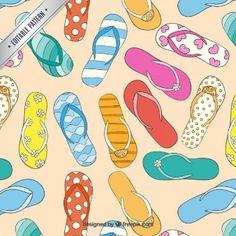 Flip flop pattern