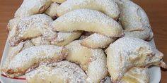 3 Zutaten Nusskuchen - Rezepte des Tages Pudding, Desserts, Vanilla, Powdered Sugar, Food Items, Tailgate Desserts, Deserts, Custard Pudding, Puddings