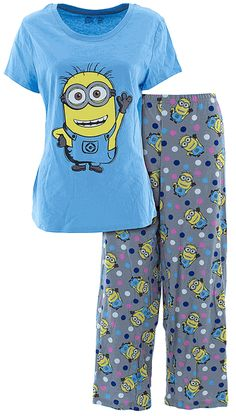 Minions Women's and Women's Plus One Piece Pajamas - Walmart.com ...