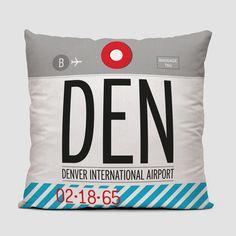 c9799e8a9b8 DEN - Throw Pillow Airport Luggage