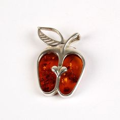 The Amber Apple Pendant | Amber pendants | The Russian Store
