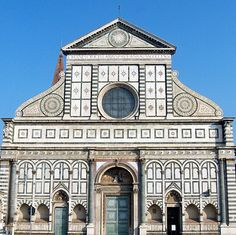 Santa Maria Novella - I'll be giving tours here.