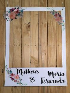 Como Fazer Plaquinha Polaroid para Casamento | Blog de Casamento DIY da Maria Fernanda