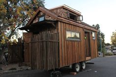 Mini Humble Abode - A custom, owner-built tiny house on wheels in Ojai, California. Built by Humble-Hand Crafts. On Tiny House Swoon