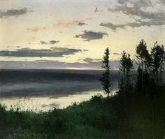 Le Prince Lointain: Andrei Shilder (1861-1919), Tombée du Jour – 1917....