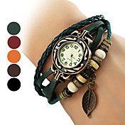 frunze stil piele trupa cuarț ceas brățară an... – EUR € 5.51