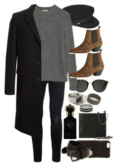 """Inspired by Harry Styles"" by nikka-phillips ❤ liked on Polyvore featuring Topman, Yves Saint Laurent, Carrera, ASOS, MANGO, Shinola, Clive Christian, Maison Margiela, Hollister Co. and men's fashion"