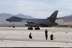 Rockwell Bone taking off. Military Jets, Military Weapons, Military Aircraft, Air Fighter, Fighter Jets, Engin, Aircraft Pictures, Military Equipment, Fighter Aircraft