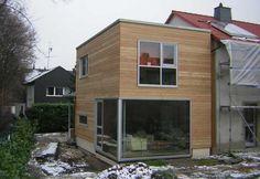 Holzanbau & energetische Sanierung eines Reihenhauses