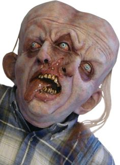 Most Scary Pictures Ever | ... one of the scariest creatures ever! Full over the head latex mask
