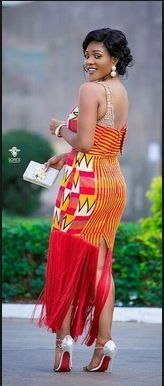 Hey Guys, We have selected some of the finest Kente styles that can fit your personality. Every one of us is a boss chic depending how we look at what we do. Kente fabrics are not new local fabric… African American Fashion, African Inspired Fashion, African Print Fashion, Africa Fashion, African Prints, Men's Fashion, African Dresses For Women, African Fashion Dresses, African Attire