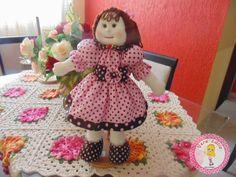 Vera Farias Arte e Design: Boneca para decoração de festa (45cm)