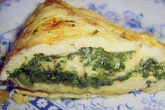 Spinat - Käse - Omelett 1