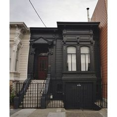 I want a downtown flat and paint it black! Too bad that would not fly in Charleston.