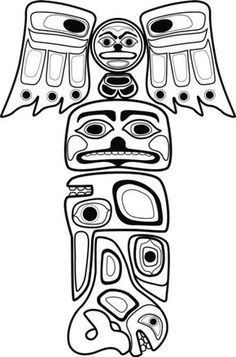 Mar 25 How to Draw a Totem Pole Totems Native americans and
