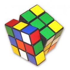many hours spent mastering the cube....can't do it now, no matter how much I try :)