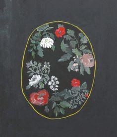 vintage flowers, original by britthermann