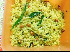 Tamarind Rice or Puliyogare is one of the famous common rice recipes prepared in all South Indian states. Puliyogare is one of the quick Lunch and Dinner Ideas Rice Recipes, Indian Food Recipes, Ethnic Recipes, Lemon Rice, South Indian Food, Tamarind, Food Festival, Lunches And Dinners, Risotto