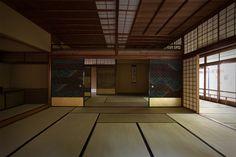 """Prize of AIJ for Design 1951 """"Hasshokan miyuki no ma"""" Sutemi Horiguchi"""