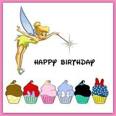 Happy Birthday Disney Style