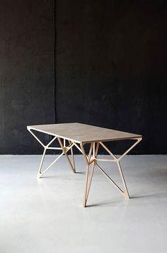 Es tendencia en decoración: muebles geométricos #tendencias #decoracion #mesas