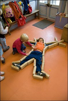Learning with 'Bricks' - fine and gross motor skill practice