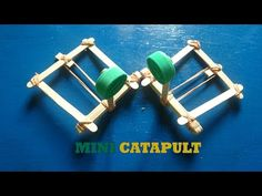 how to build a catapult using popsicle sticks