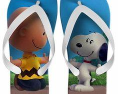 Chinelo Festa Infantil Snoopy