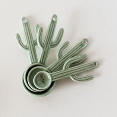 cactus measuring spoons are great for a summer kitchen.These cactus measuring spoons are great for a summer kitchen.