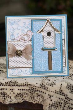 Stampin Up Beau Chateau Papers