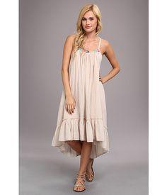 Free People Stripe Dress Blue Combo - 6pm.com