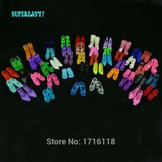 Colorful Toy Sandals Crystal High Heels Toy Shoes Girls Holiday Birthday Gift #Unbranded