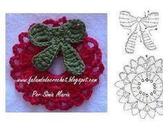 Картинки по запросу navidad en crochet pinterest