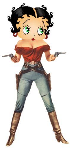 gunfighter betty boop