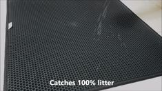 The Litter Mat for Preventing Cat Litter Scatter. Keeps your floors and cat's paws litter-free. Catches litter from cat exiting litter box. Cat Litter Mat, Litter Box, Cat Vs Dog, Cat Paws, All Types Of Cats, Cat Lover Gifts, Pet Care, Your Pet, Kittens