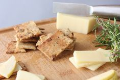 Savory and Sweet Crackers {Gluten-Free, Vegan}