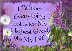 A Positive affirmation ~ Repeat this to yourself daily. This is only one of the many thousands of examples of Positive affirmations out there. Check out more online...