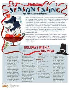 Holiday Season Eating for People with Diabetes - Recipes and Tips to Keep Blood Sugar Under Control