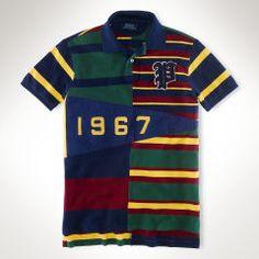 Custom-Fit Pennant Polo Shirt - Polo Ralph Lauren Custom-Fit  - RalphLauren.com