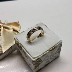 18 mm Ring Silber nostalgisches Design alt SR954