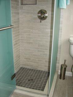 Small Tile Shower