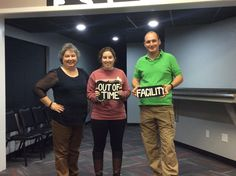 These three were caught by the evil Dr. Andrews!