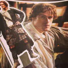 Printing/laminating #PocketJamie & @Outlander_Starz #JAMMF wallpaper ready for @UKOutlanderGath