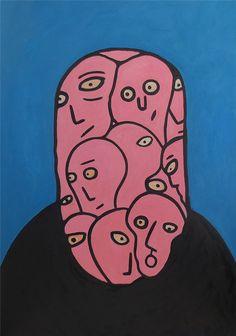 Artischev Dmitriy Hippie Painting, Trippy Painting, Painting & Drawing, Art Sketches, Art Drawings, Plakat Design, Hippie Art, Wow Art, Weird Art