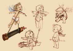 Little cupid by RosieVangelova