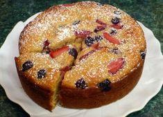 Kukoricalisztes gyümölcsös sütemény French Toast, Paleo, Cupcakes, Cookies, Baking, Breakfast, Sweet, Recipes, Food
